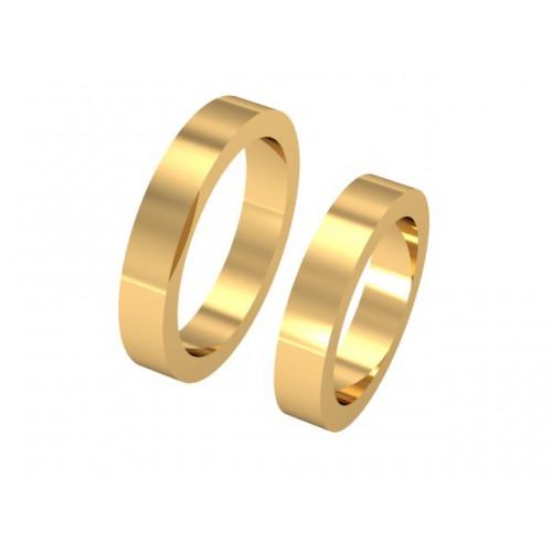5ce0634aceec Золотые кольца   Обручальное кольцо американка ик-012
