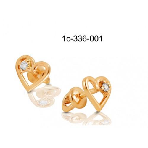 серьги фото золото гвоздики