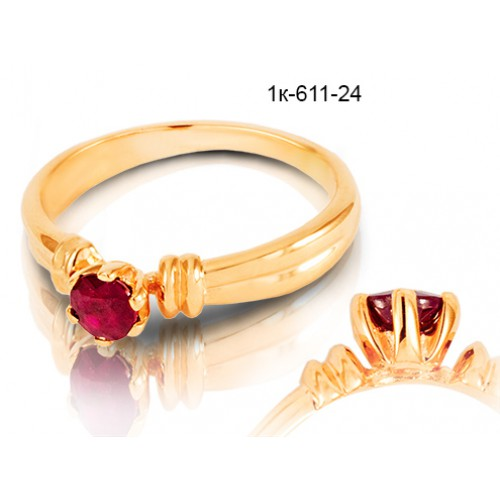 кольца с рубином цена и фото